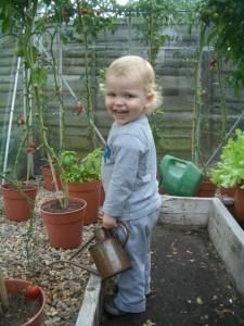 ingo jones in garden