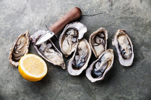 Zinc and your health - oysters